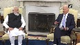 US-India relationship can help us solve a lot of global challenges President Biden