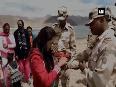 Women tie rakhis to ITBP personnel at 15,000 ft