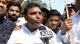 Youth Congress holds protest outside MJ Akbar s Delhi residence