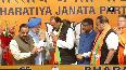 Devender Rana, Surjit Singh meet JP Nadda after joining BJP