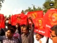 Tamil group stage protest against salman khan for supporting sri lankan