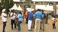 Mens Hockey WC Fans gather outside Kalinga Stadium ahead of India vs Netherlands match