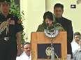 Mehbooba Mufti takes oath as J&K s first woman CM