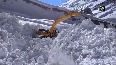 BRO begins snow-clearing operation in Lahaul-Spiti