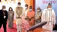 PM Modi visits exhibition models of UP Defence Industrial Corridor