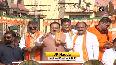 WB polls JP Nadda holds massive roadshow in Bishnupur