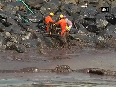 Chennai Battle against oil spill continues at Ennore Port