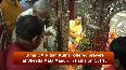 Navratri Bihar CM offers prayers at Sheetla Mata Mandir on Ashtami