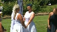Watch: Australia's first same-sex couples get married