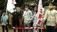 Youth and student wings of CPI(M) hit roads in Chennai against NEET.mp4