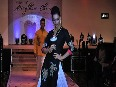 Bollywood stars sashayed down the ramp showcasing the rich handloom outfits of Manipur