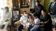 Rahul Gandhi meets family of late Cong leader Oscar Fernandes