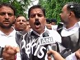NPP protests against unprovoked firing by Pakistan troops at border near embassy