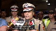 Delhi Police Commissioner meets personnel on duty on Diwali night