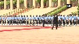 President of Zambia Edgar Lungu accorded Guard of Honour at Rashtrapati Bhavan