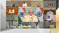 PM Modi meets CMs of 10 states with most COVID-19 cases.mp4