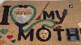 Odisha sand artist pays tribute to mothers on International Mothers Day