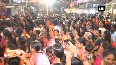 Watch Thousands of devotees witness Rath Yatra of Sai Baba in Shirdi