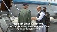 Rajnath Singh departs for Russia