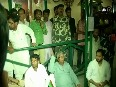 Lalu Yadav, son Tejashwi hold meeting with party MLAs
