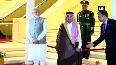 PM Modi arrives at King Saud Palace in Riyadh