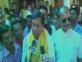 BJP s chief ministerial candidate for Assam Sarbananda Sonowal casts his vote