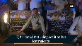 Congress workers stage torchlight protest against BJPs behavior in Karnataka Assembly