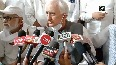 Congress satisfied with its party president Salman Khurshid