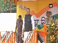 Political leaders unfurl tricolours as free India turns 70 today