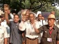 After army veterans, paramilitary personnel demand pension scheme
