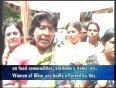 Women stage protest against price rise in Patna