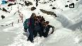 Injured Japanese trekker rescued by SDRF from Kedarnath