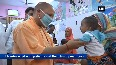 UP CM Adityanath visits hospital in Saharanpur for inspection