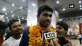 Asian Games 2018 India's athletics winners receive warm welcome at Delhi airport