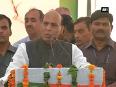 We want two-third majority in haryana rajnath singh, at sonipat rally