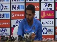 bhuvneshwar kumar video