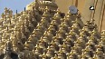 1,400 GOLD-plated 'Kalash' for Somnath Temple