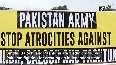 Sindhi, Baloch, Pashtuns protest against atrocities by Pak Army in Geneva