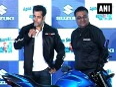 Salman khan & parineeti launch suzuki bike & scooter