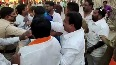 Shiv Sena leaders pour ink on BJP leader for criticising CM Thackeray