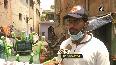 Coronavirus-shaped robots deployed at containment zone in Chennai to spray disinfectant amid COVID-19