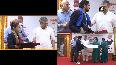 Railways Minister felicitates Olympians