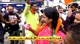 Kerala local body poll results Early lead for NDA, BJP workers celebrate in Thiruvananthapuram.mp4