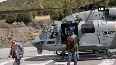 Air Force provides EVM through helicopter in HPs Lahaul-Spiti