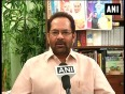 Mukhtar abbas naqvi attacks congress