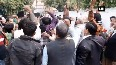 WATCH: Congress workers celebrate outside Sachin Pilot's residence