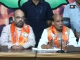 Rajnath praises modi for party s win, says he is happy and satisfied