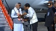 PM Modi arrives at Dibrugarh to inaugurate Indias longest railroad bridge