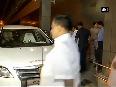 CM E Palanisamy arrives in New Delhi for NITI Aayog meeting