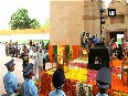 70th I-Day President Kovind, Chiefs of defence forces pay tributes at Amar Jawan Jyoti